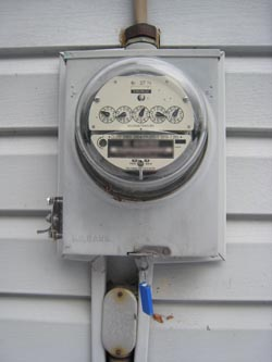Just a typical electric meter