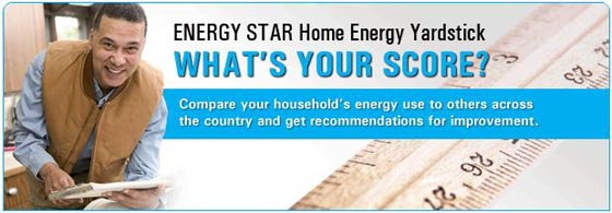 Rate your house's energy efficiency